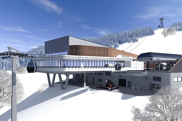 Offizieller Baustart für die K-onnection Kaprun-Maiskogel-Kitzsteinhorn- ©MAB Architektur Projektmanagement
