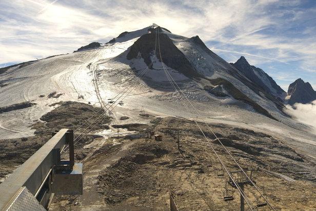 Ski d'automne : Tignes repousse l'ouverture de son glacierWebcam Roundshot / OT de Tignes