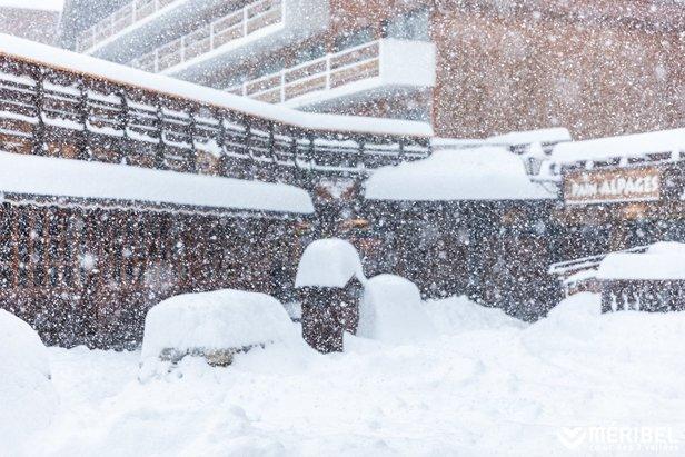 Schneebericht: Nach dem Schneesturm in den Alpen, wie geht es weiter? ©Méribel Coeur des 3 Vallées/Facebook