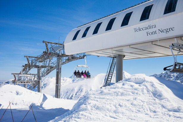 GRANDVALIRA prévoit l'ouverture de 30 km de pistes ce week-end !- ©Grandvalira