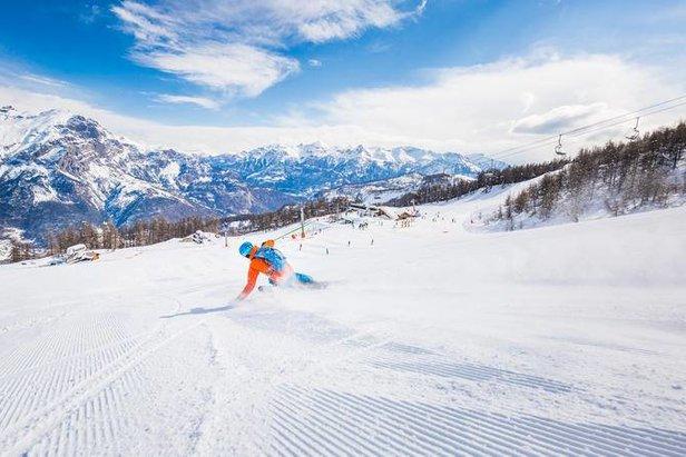 Ouverture du domaine skiable de Puy Saint Vincent