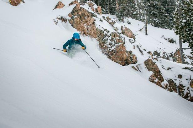 "Jackson Hole received more than 60"" of snow this month with more than 2 feet falling in the last seven days as of March 21, 2018.  - © Jackson Hole Mountain Resort"