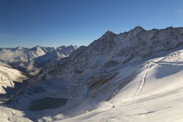 Sölden otwiera sezon na lodowcu!- ©Webcam Skiline Panorama