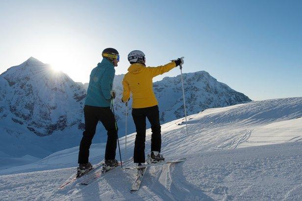 Wiosenne narty w Południowym Tyrolu ©Thomas Gruener