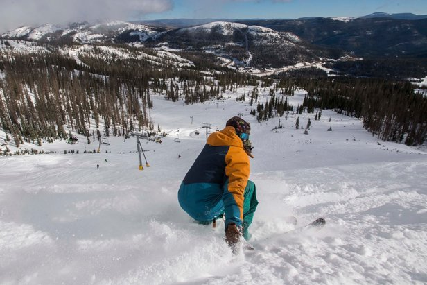 Wolf Creek Opens 1st With Powder Conditions- ©Wolf Creek, Christian Murdock
