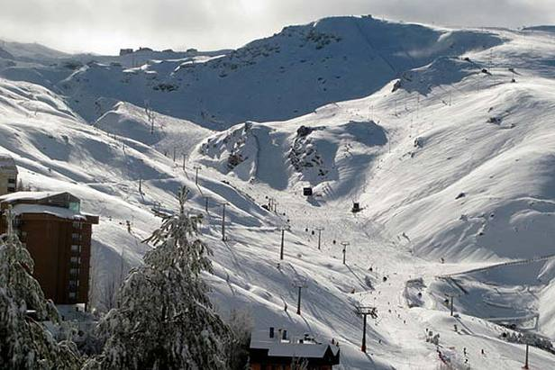 Snow Depths Reach Five Metres In Spain