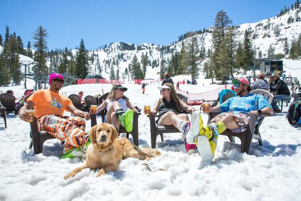 Ski, détente et soleil en mai à Squaw Valley