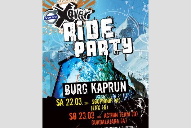 Zell am See - X-OverRideParty