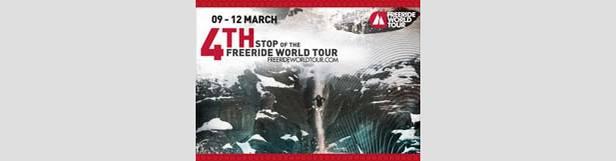 Freeride World Tour reaches Tignes
