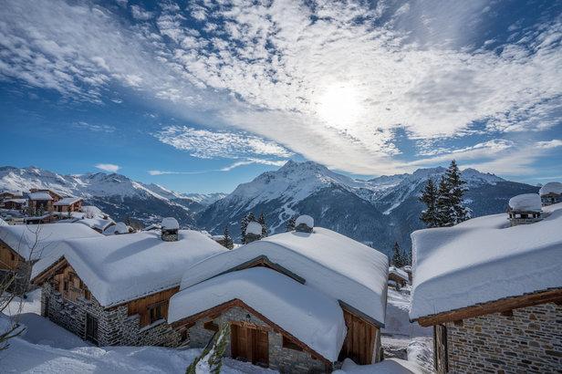 Snowy rooftops in La Rosière 1850  - © La Rosière Tourisme