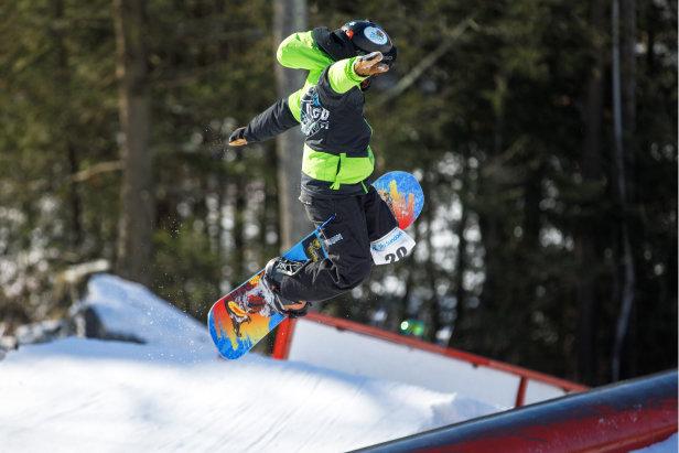 Rail Jam at Ski Sundown sponsored by Sartorius Sports