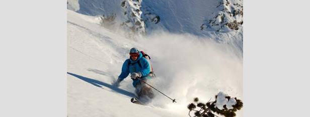 Sneeuwrijkste gebied week 8: Noorwegen domineert
