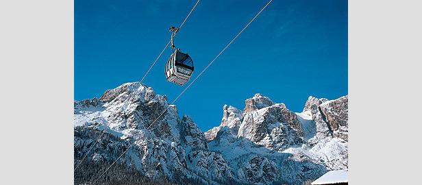 Dolomiti Super-Ski - cable car
