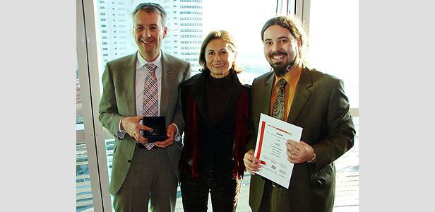 1. Platz für www.lech-zuers.at beim Crystal Web Award 2007