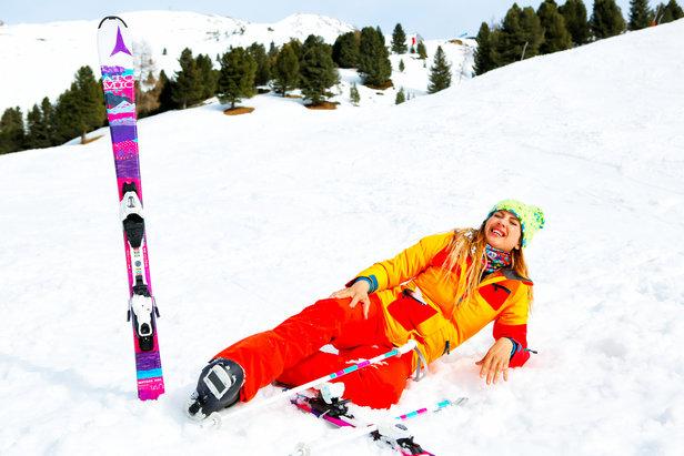 causes des blessures au ski