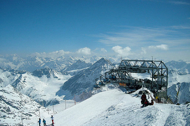 Der Pitztaler Gletscher: Pistenspaß auf 3.440m Höhe- ©Markus Hahn