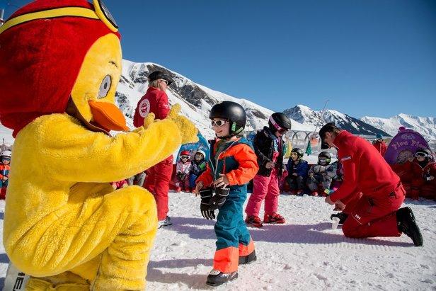saint sorlin d'arves station de ski adaptée pour l'accueil des enfants