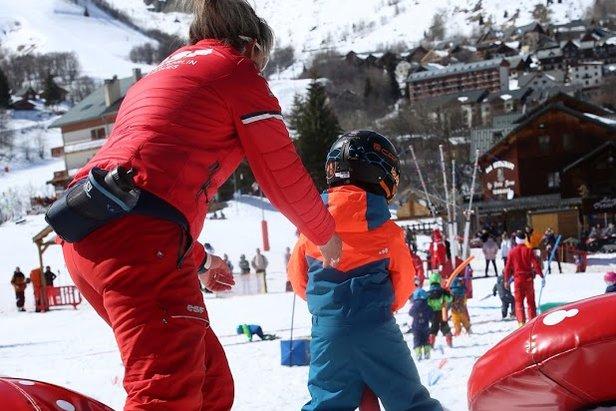 Apprendre à skier à Saint Sorlin d'Arves