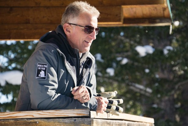 Pro Tour CEO Jon Franklin sees bright future for the events.  - © World Pro Ski Tour