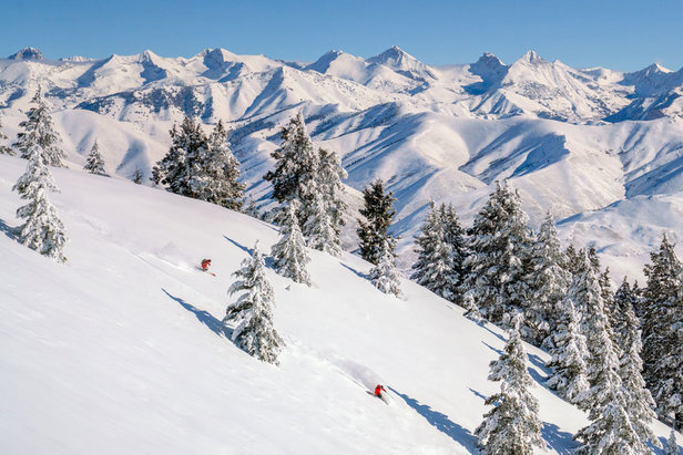 Baldy grows into 'back country'  - © Sun Valley Resort photo