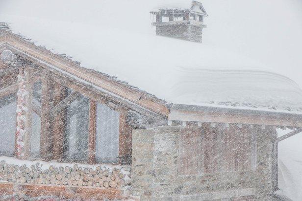 80cm of snow in La Rosiere (13/12/19)  - © La Rosiere/Facebook