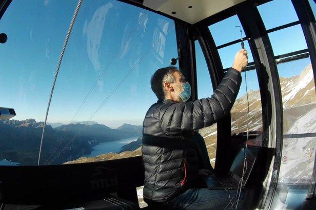 Naukowcy zmierzyli przepływ powietrza w gondoli za pomocą czujników   - © Streamwise GmbH