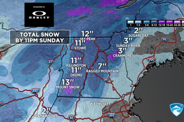 The Northeast gets much needed snow this weekend.
