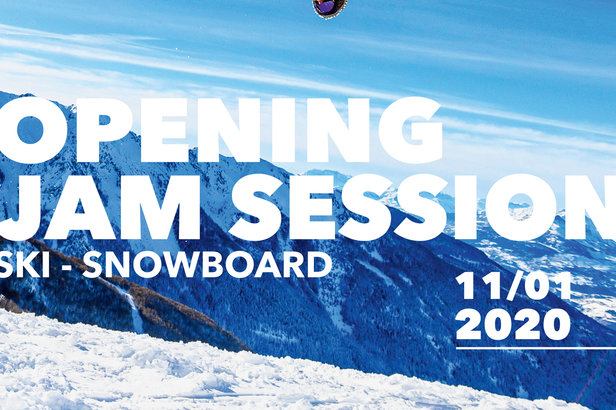 OPENING JAM SESSION le 11 janvier !