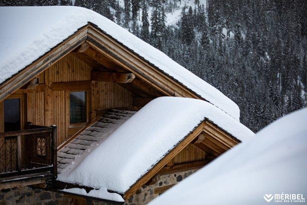Snow delivery for Meribel (13/12/19)  - © Meribel/Facebook