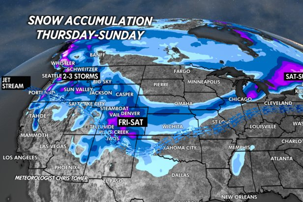 Snow is headed to the PNW
