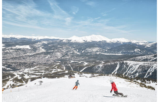 There's nothing like spring turns in Breckenridge.  - © Andrew Maguire
