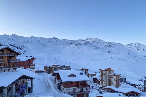 After the storm in Val Thorens 18/1/20  - © Val Thorens/Facebook