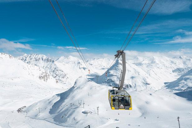 Winterbild von der Diavolezza (SUI)