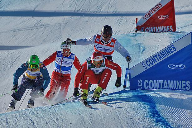 Ski Cross Heat