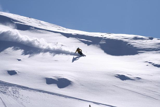 Vorteile und Nachteile: Wie fahren Rocker-Ski? ©Skylotec
