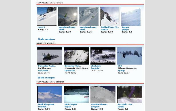 Die Skiers' Lounge - Treffpunkt für Wintersportler aus ganz Europa ©Skiinfo