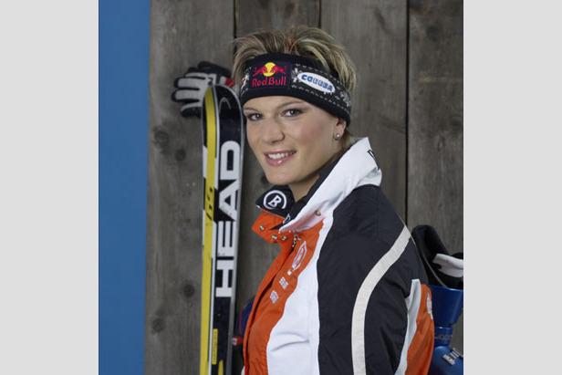 Maria Riesch fällt für die Rennen in Übersee aus- ©Red Bull