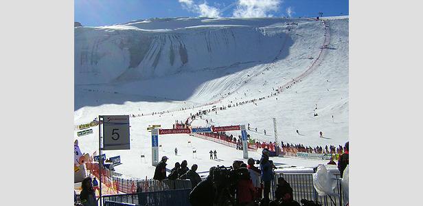 Schnee in Sölden - Gute Karten für den Weltcup-Opener ©Ch.Fluehr/XnX GmbH
