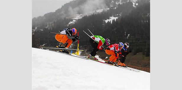 Großes Finale der Swiss Skicross Series- ©Patrick Gautschy