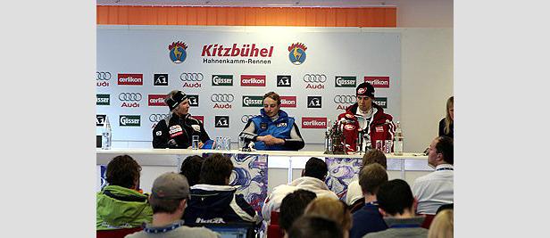 Stimmen von der Weltcup-Pressekonferenz in Kitzbühel- ©www.hahnenkamm.com