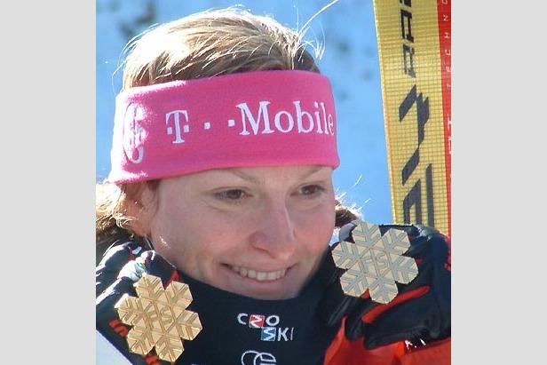 Janica Kostelic wieder voll im Training- ©M. Krapfenbauer / XnX GmbH
