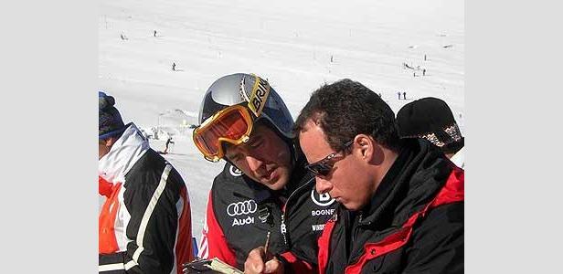 Max Rauffer im Interview mit Ski2b.com nach dem Sieg in Gröden ©Christian Flühr