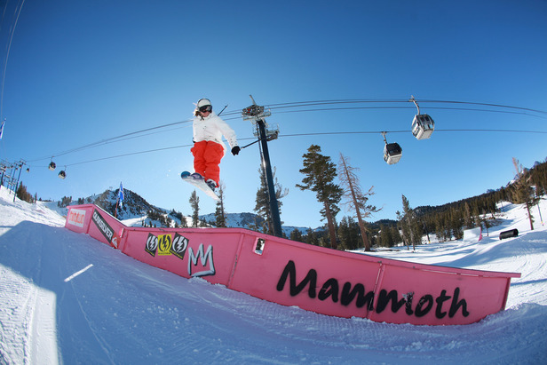 2013 West Region Best Park & Pipe: Mammoth Mountain Ski Area