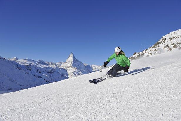 Il Matterhorn visto dalle piste di Zermatt