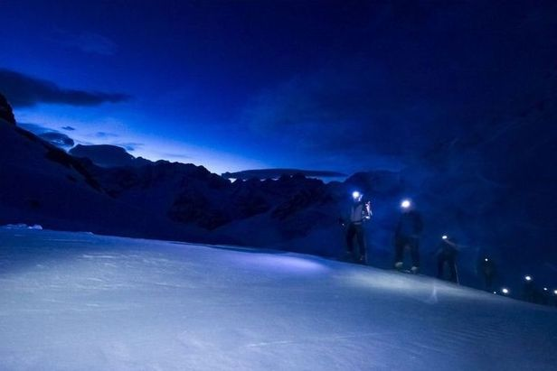 Patrouille des Glaciers, col de Riedmatten