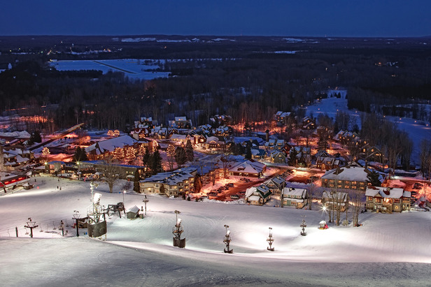 The base area for Crystal Mountain Resort - ©Crystal Mountain