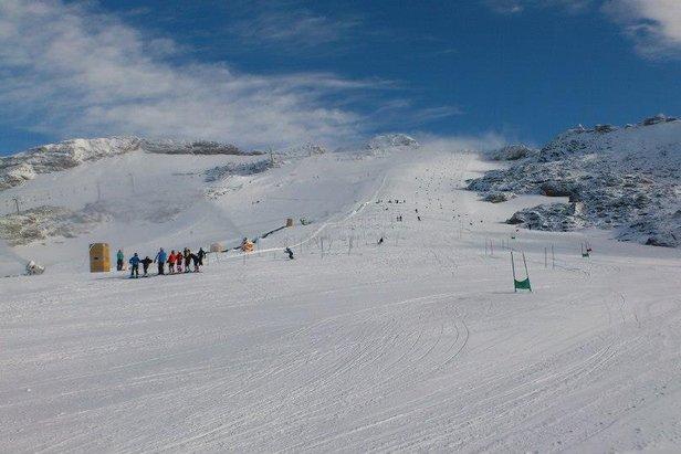 Sneeuwbericht: Het is weliswaar lente, maar waar is nog (voldoende) sneeuw te vinden?- ©Molltaler Gletscher
