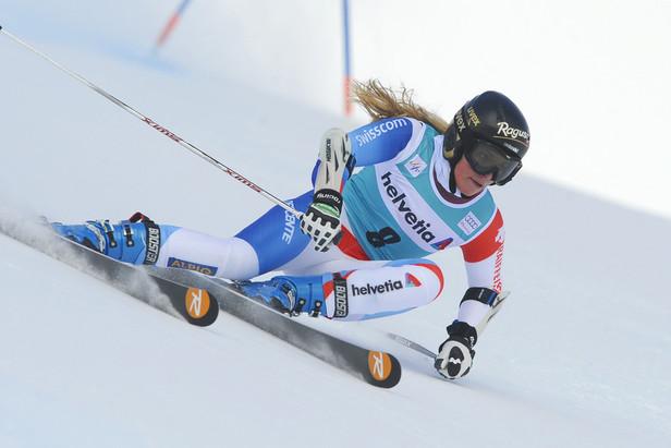 Lara Gut, Saint Moritz 2012