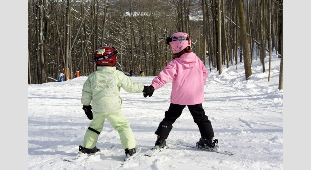 Michigan Ski Areas Encourage Kids to Get Outside ©Crystal Mountain