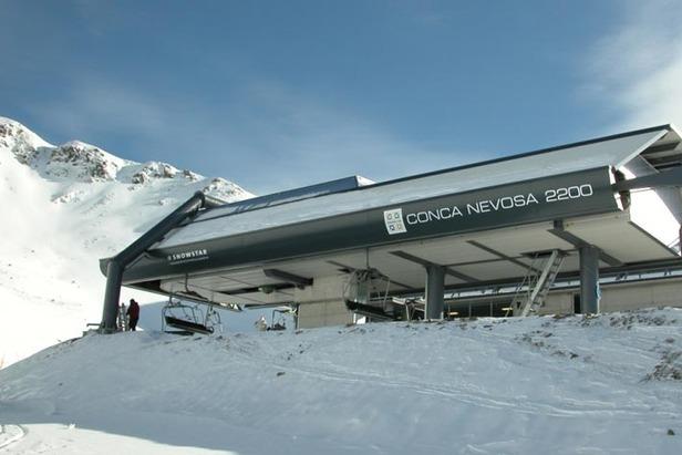 Brembo Ski, seggiovia Carisole - Conca Nevosa di Carona